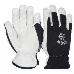 SNOW 2 OS Otto Schachner Ziegenlederhandschuhe
