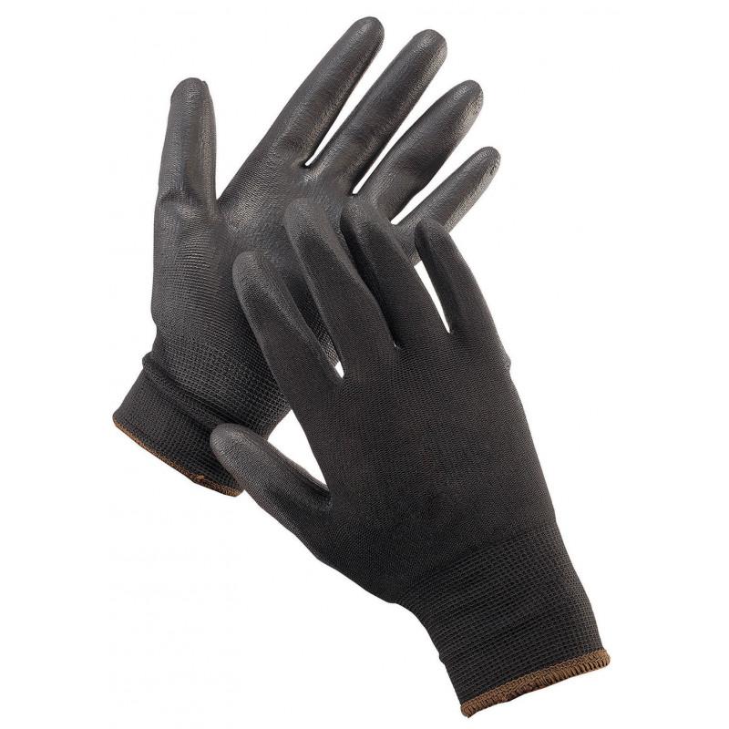 BUNTING LIGHT SCHWARZ CERVA PU Handschuhe
