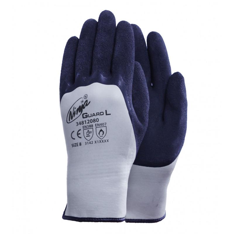 Ninja Guard L Ninja Latexbeschichtete Handschuhe