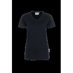 HAKRO 0190 Damen-V-Shirt Contrast Performance HAKRO Startseite