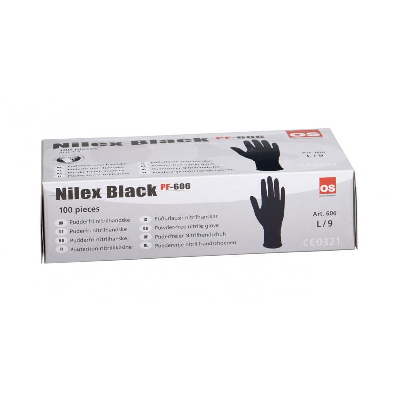 NILEX BLACK OS Otto Schachner Einweghandschuhe