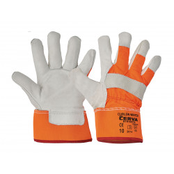 CURLEW WINTER ORANGE CERVA Ziegenlederhandschuhe